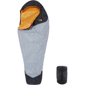 The North Face Gold Kazoo Sleeping Bag Regular high rise grey/radiant yellow